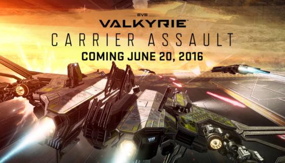 Carrier Assault Update für EVE: Valkyrie liefert neuen Spielmodus