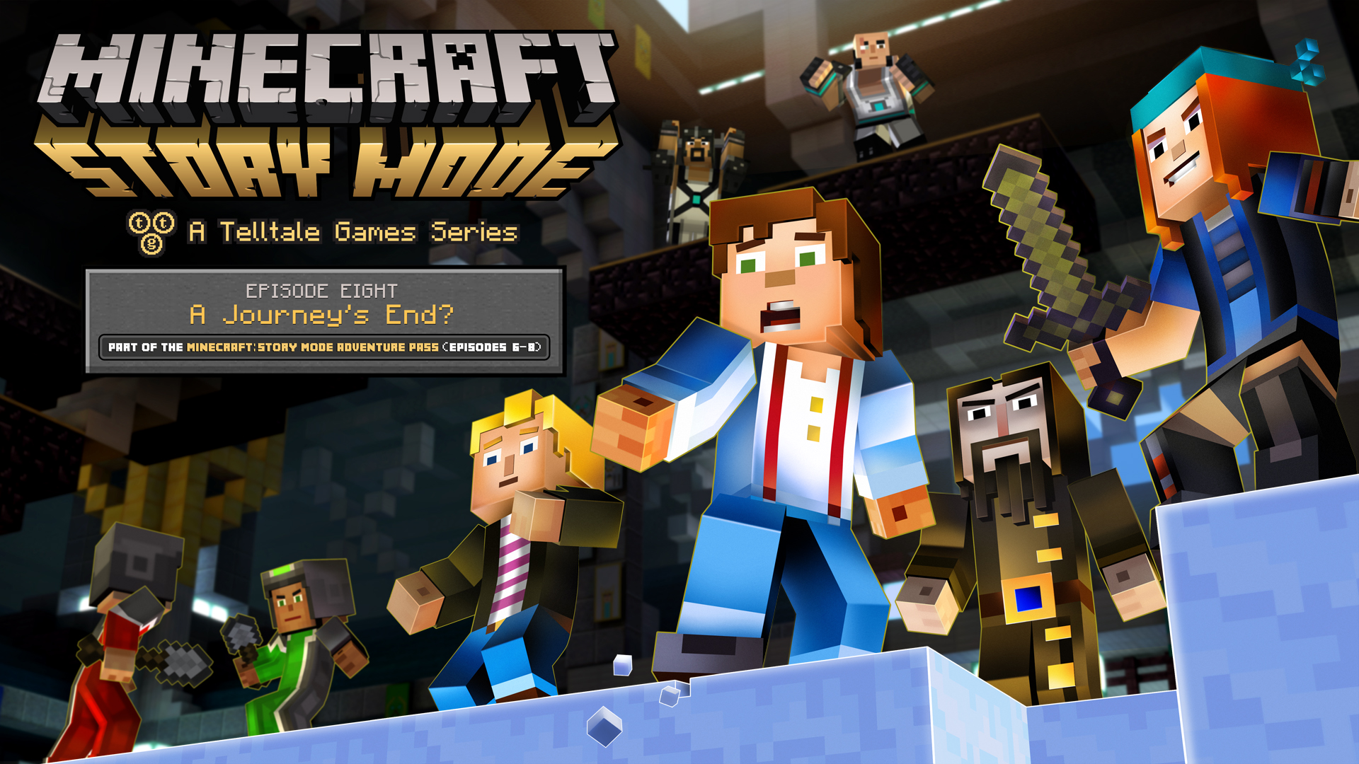 Minecraft: Story Mode – The Complete Adventure im Handel erhältlich