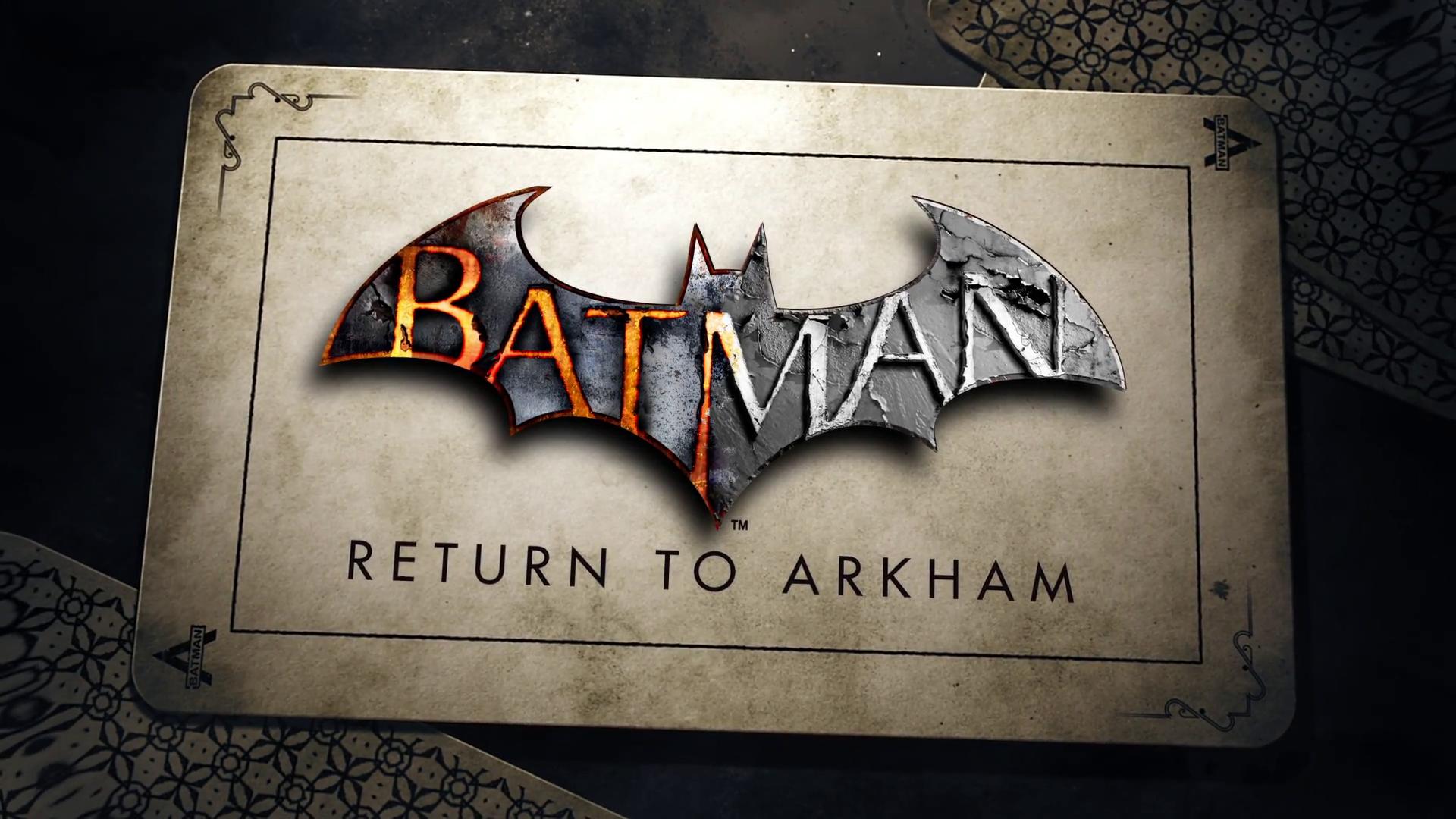 Warner Bros. präsentiert Batman: Return to Arkham