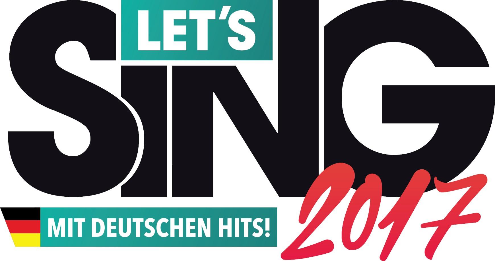 """Karaoke-Spiel """"Let's Sing 2017"""" mit deutschen Hits ab jetzt erhältlich"""