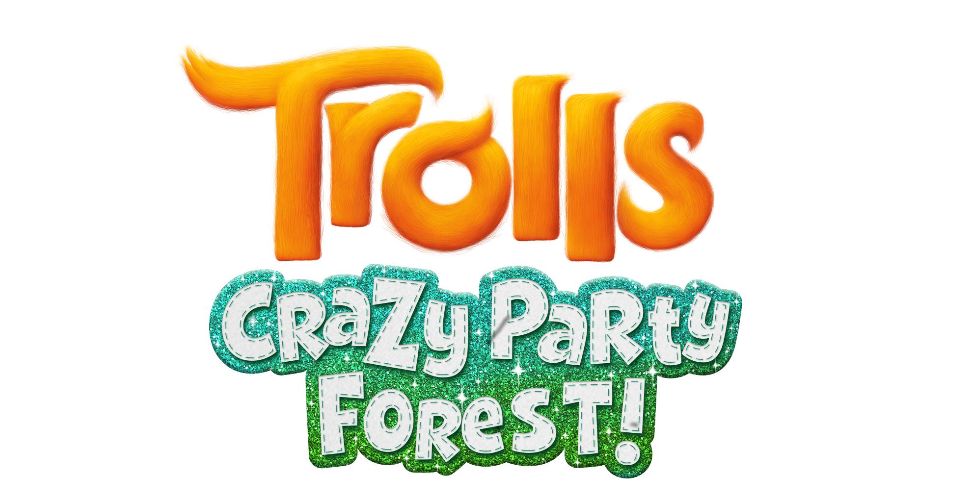 """Das offizielle Mobile-Game """"Trolls: Crazy Party Forest!"""" wird zum Animationsfilm veröffentlicht"""