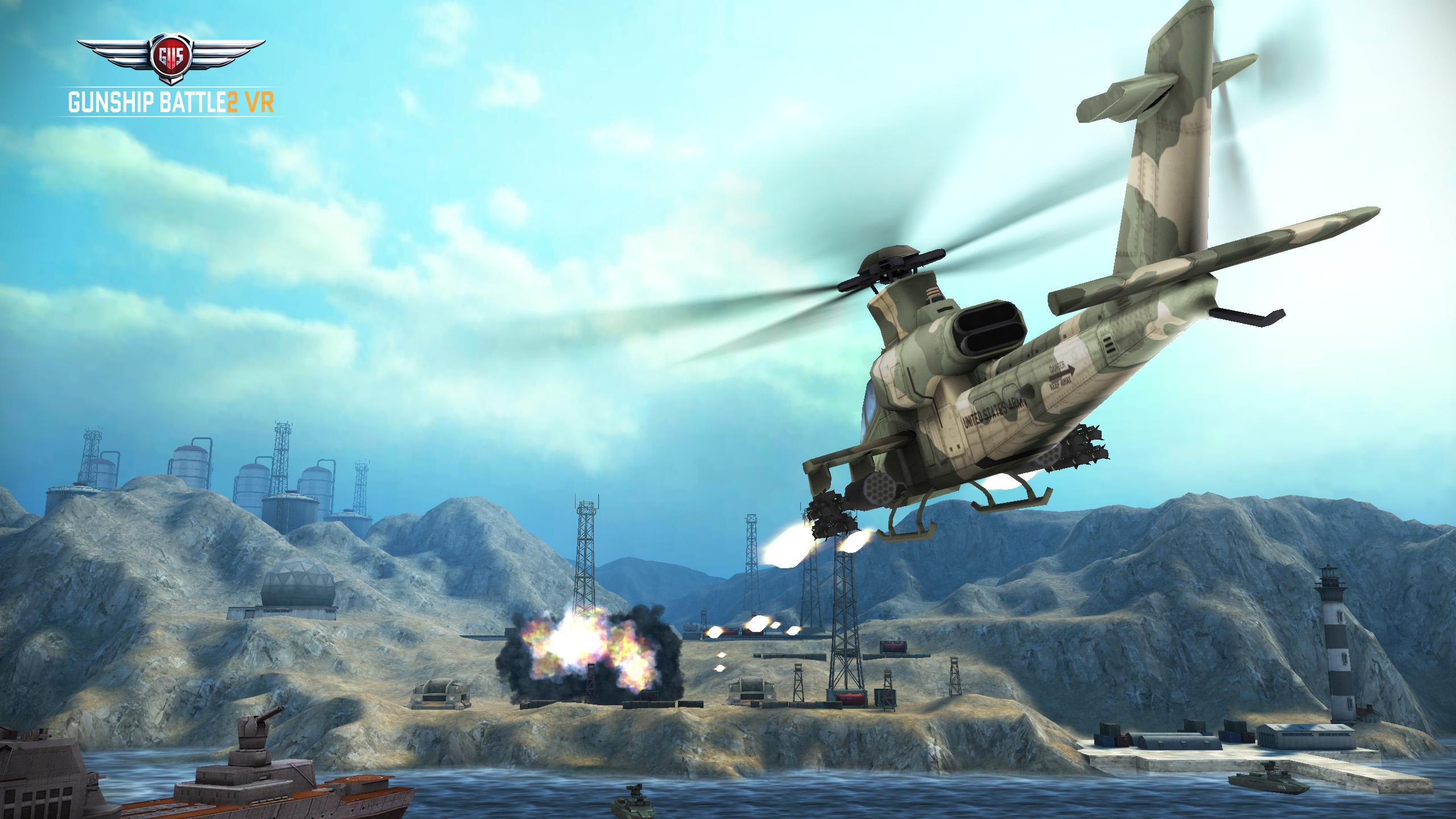Gunship Battle 2 VR - Top-Titel im Oculus Gear VR-Store