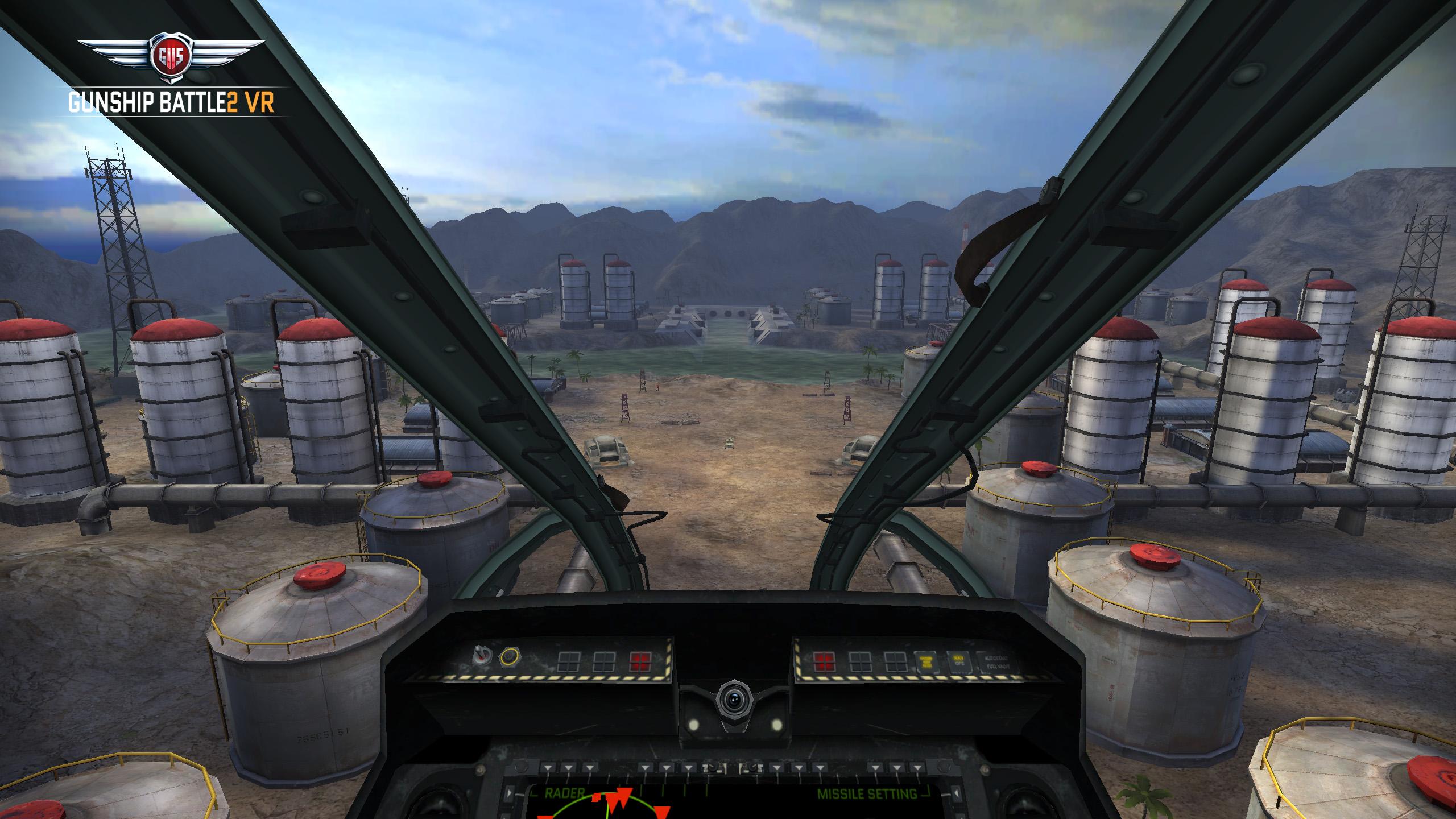 Gunship Battle 2VR - Jetzt für Samsung Gear VR