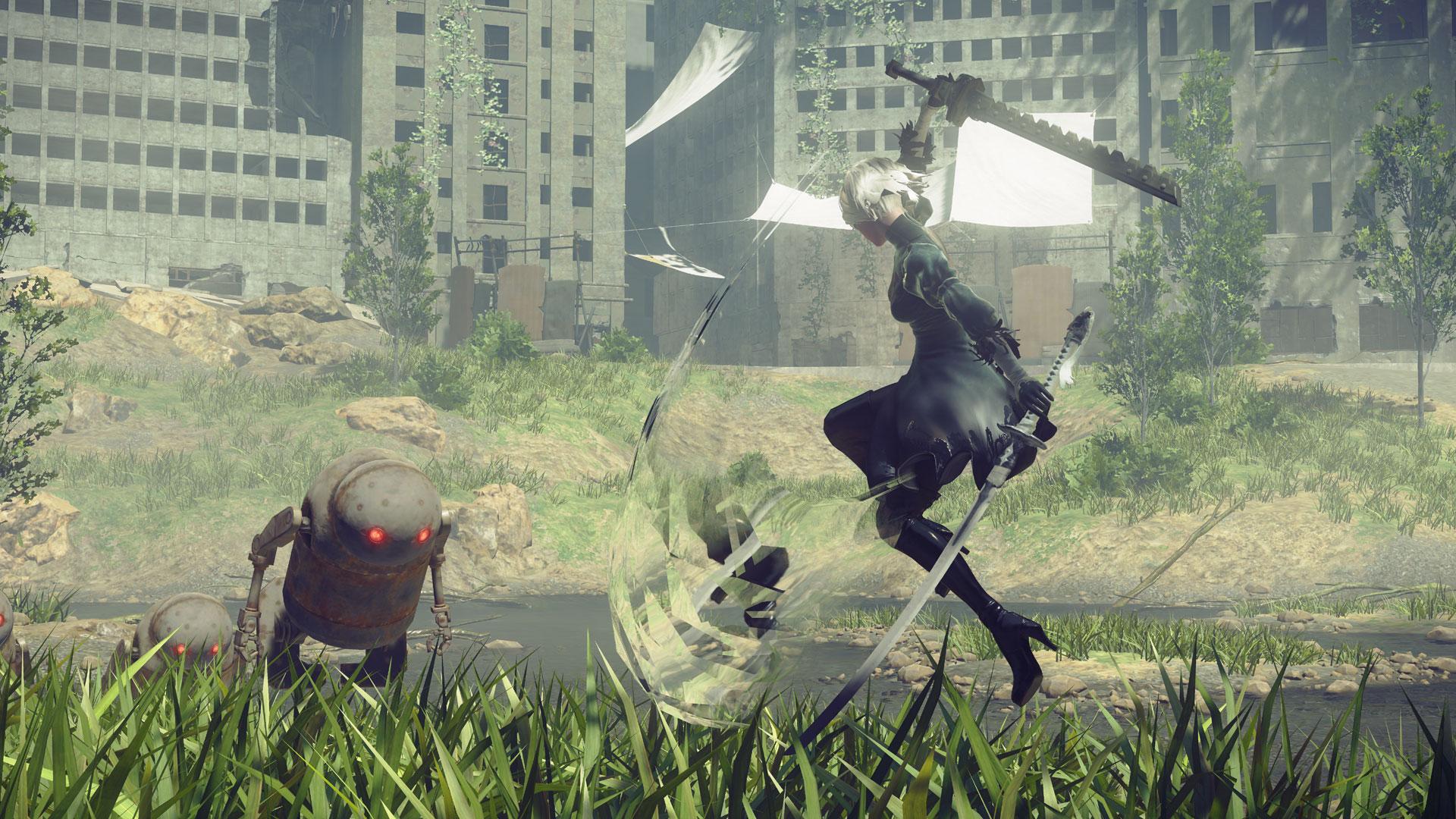 NieR: Automata - Neuer Gameplay-Trailer veröffentlicht