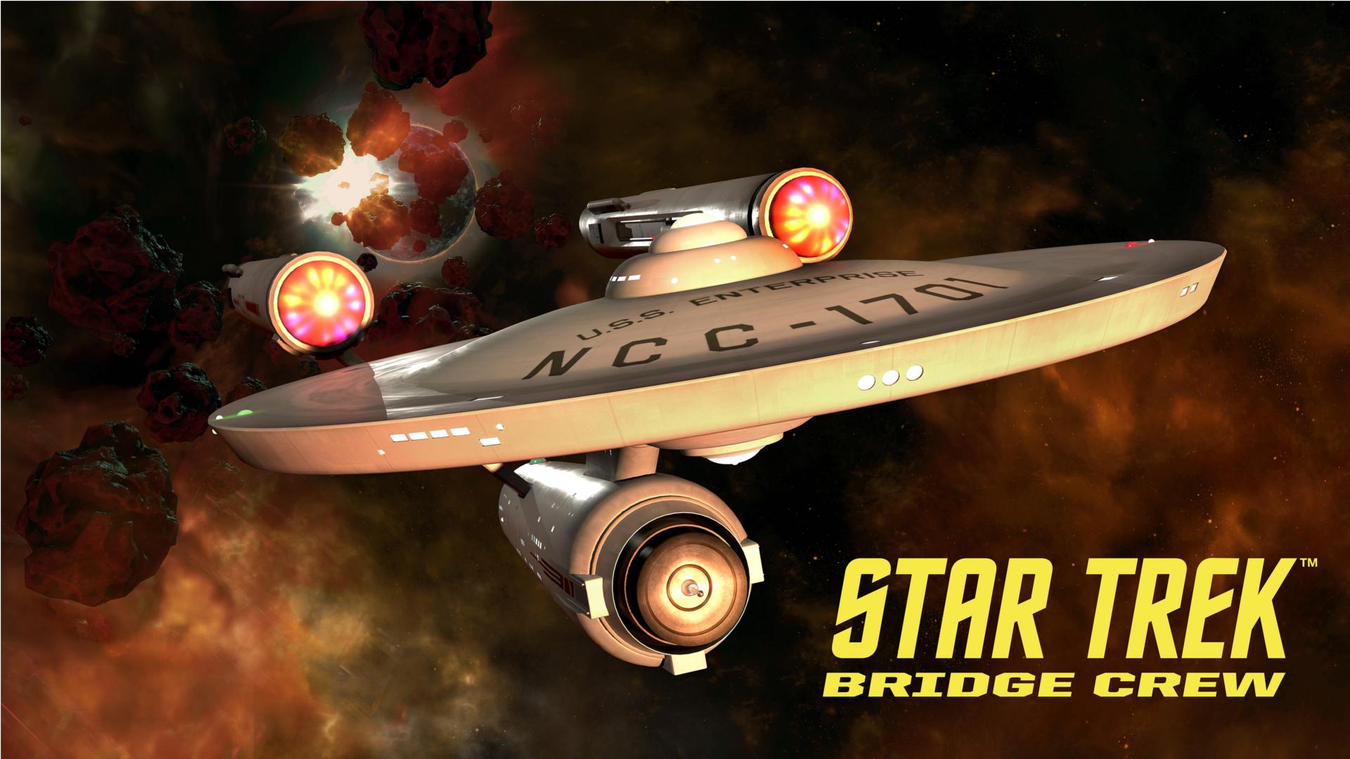 Star Strek: Brigde Crew - Das Originale-Brücke der berühmten U.S.S. Enterprise für das VR- Spiel